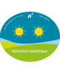 Official classification of an attraction in Wallonia - 2 suns