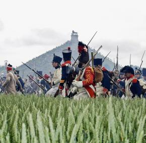 Commémoration - Bataille - Waterloo - reconstitution