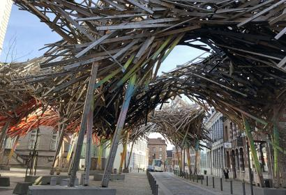 Mons - The Passenger - Structure - bois - Arne Quinze